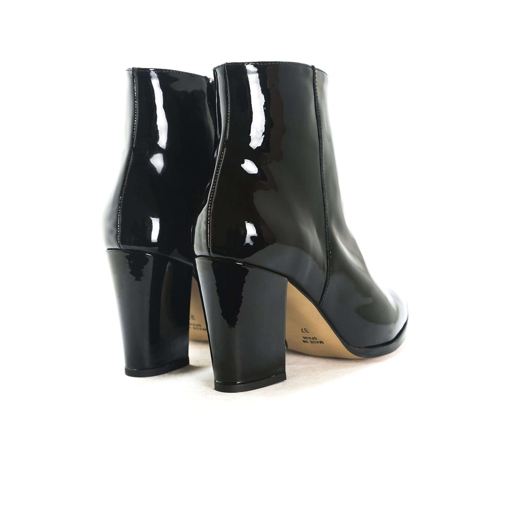 Merco Black Patent Boots