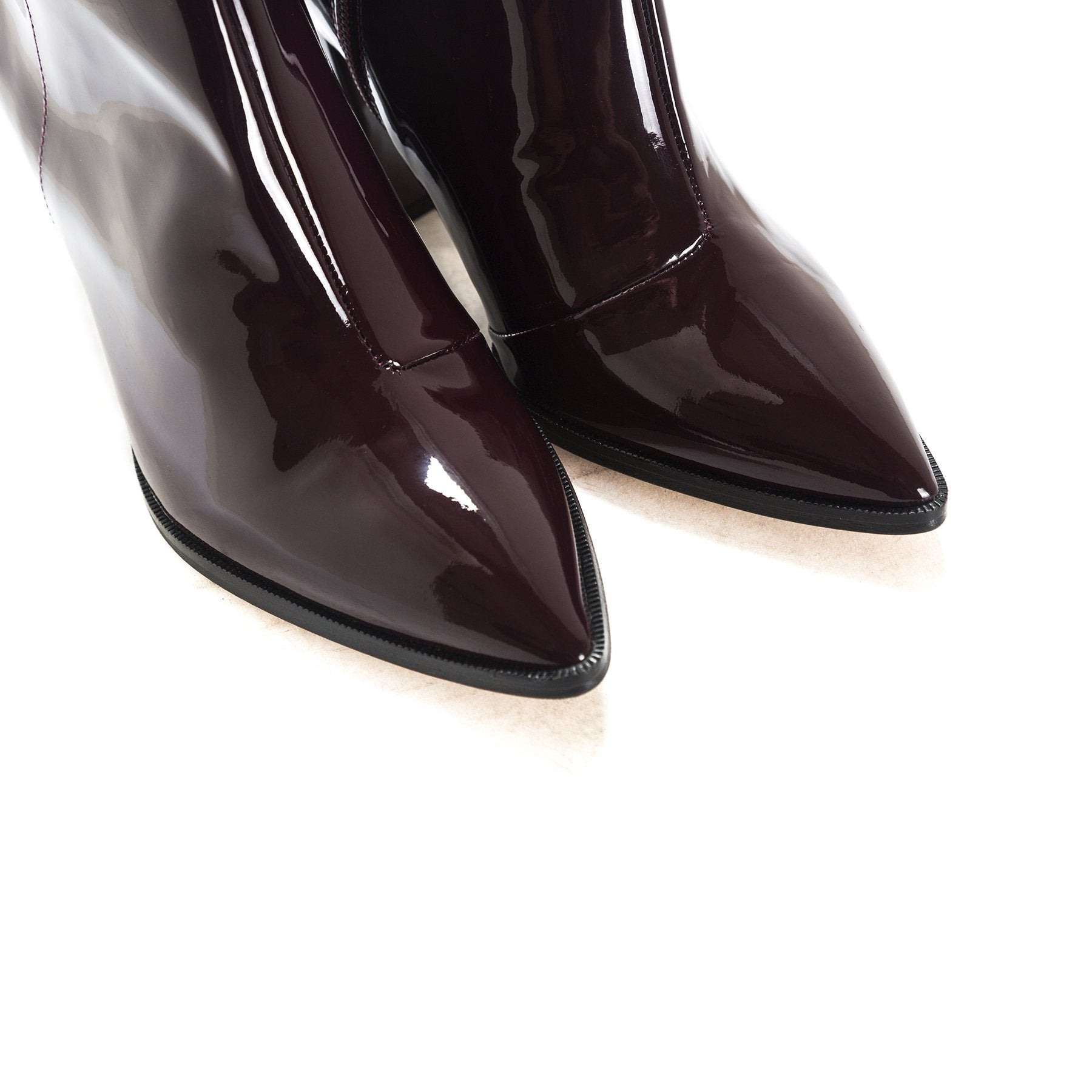 Merco Bordo Patent Boots