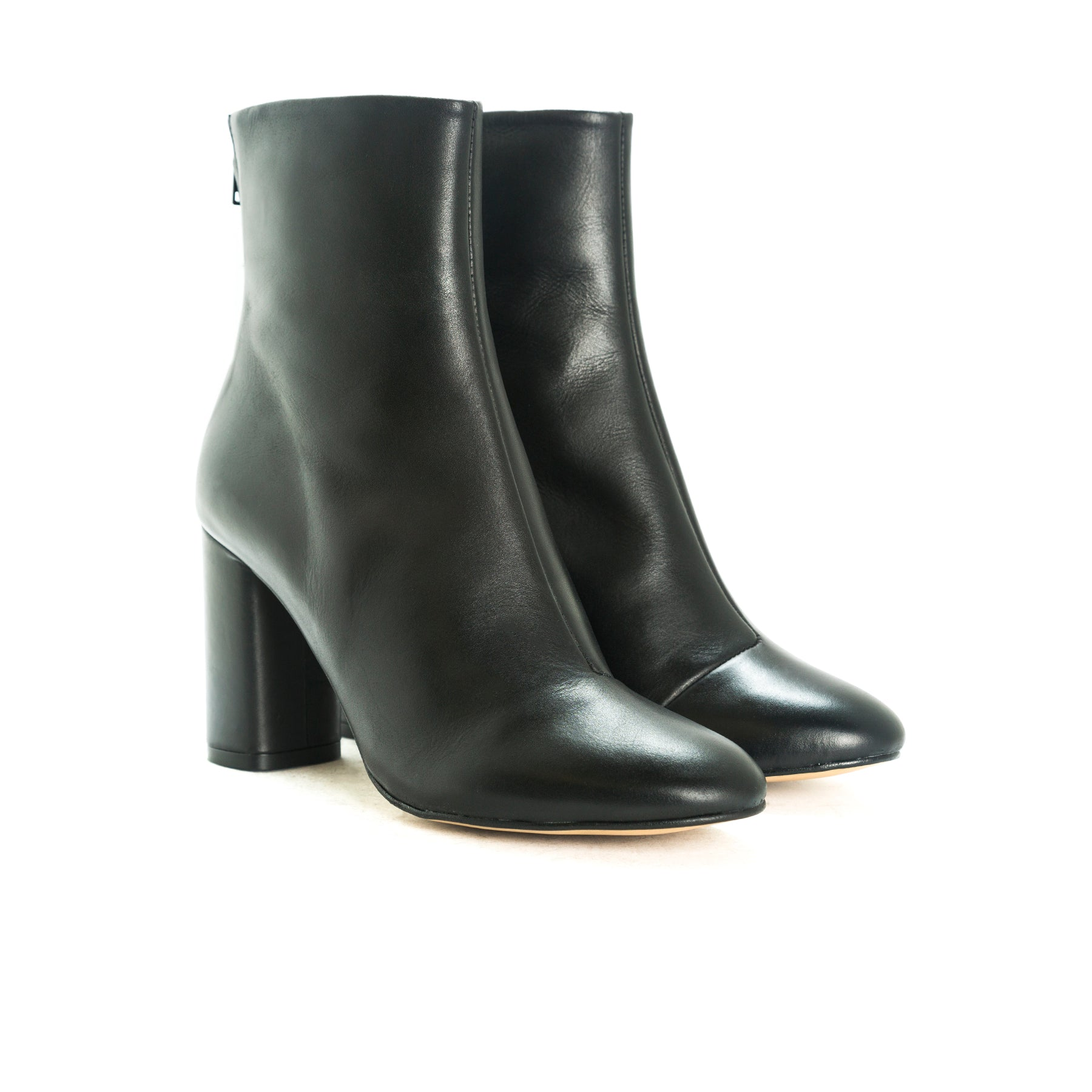 Mirta 2 Black Leather Boots