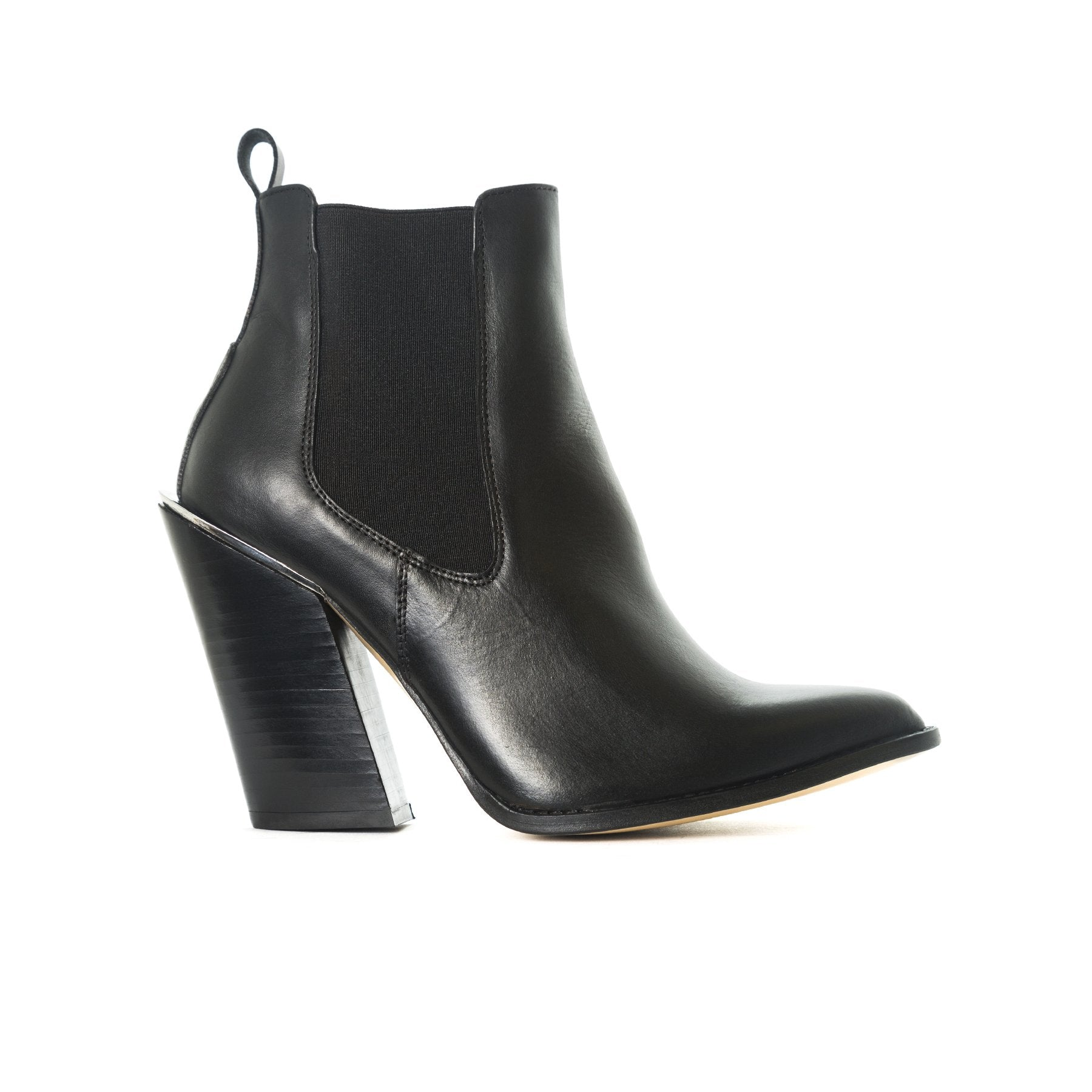 Nantoro Black Leather Boots