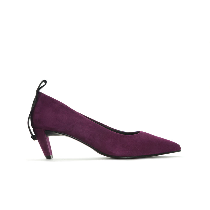 Nira Purple Suede