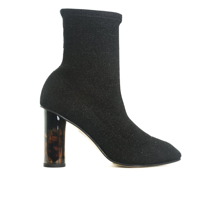 Norway Black Fabric Boots