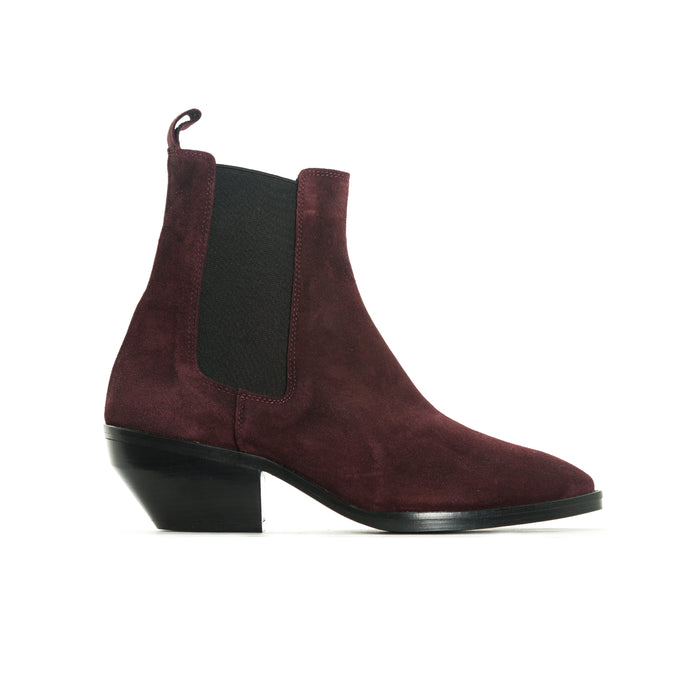 Osmond Bordo Suede