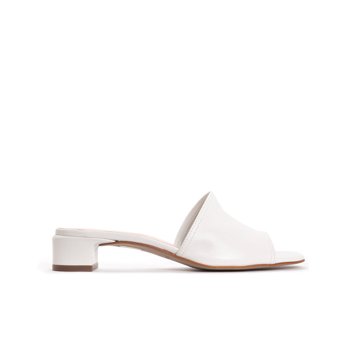 Ottavia White Leather