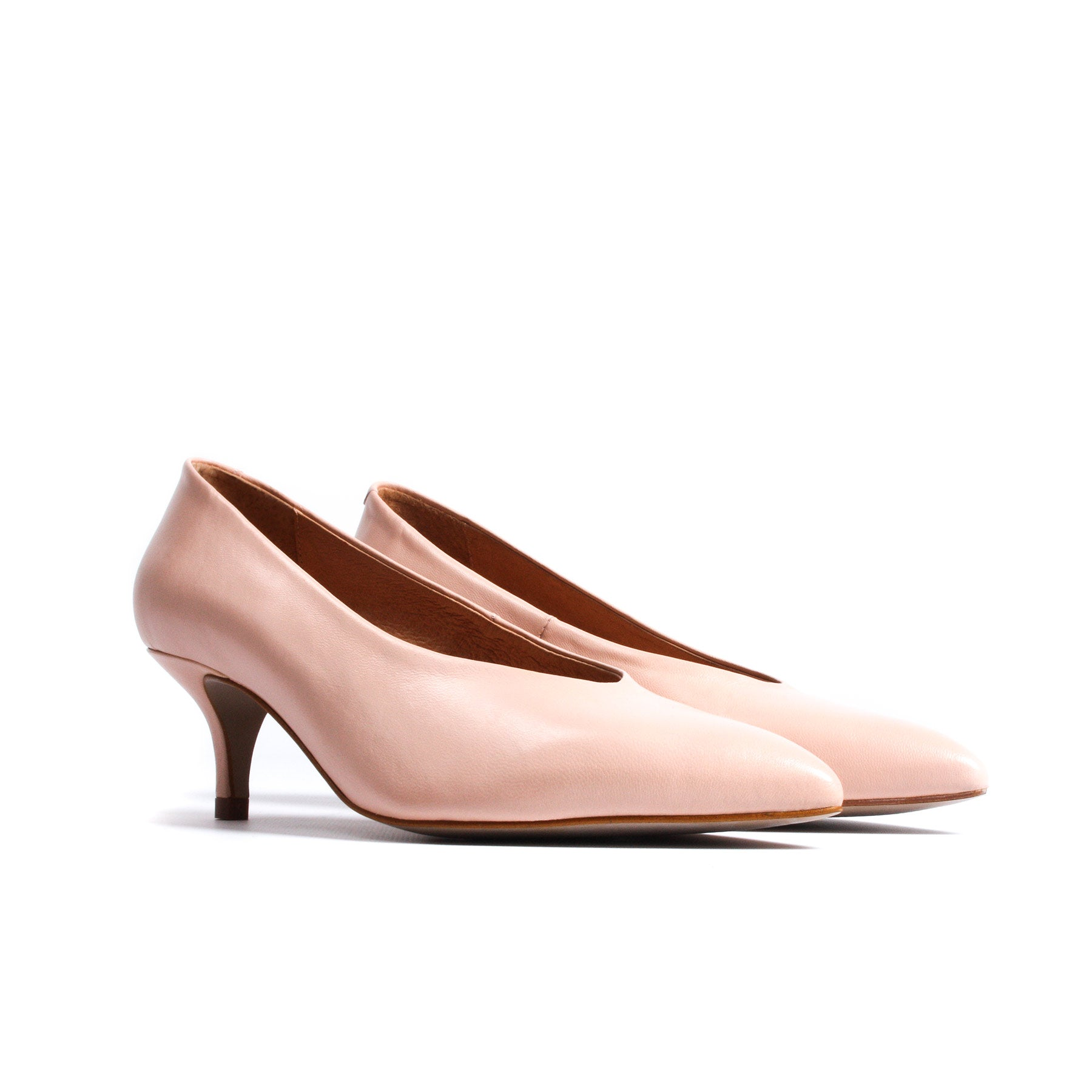 Perin Blush Pink Leather