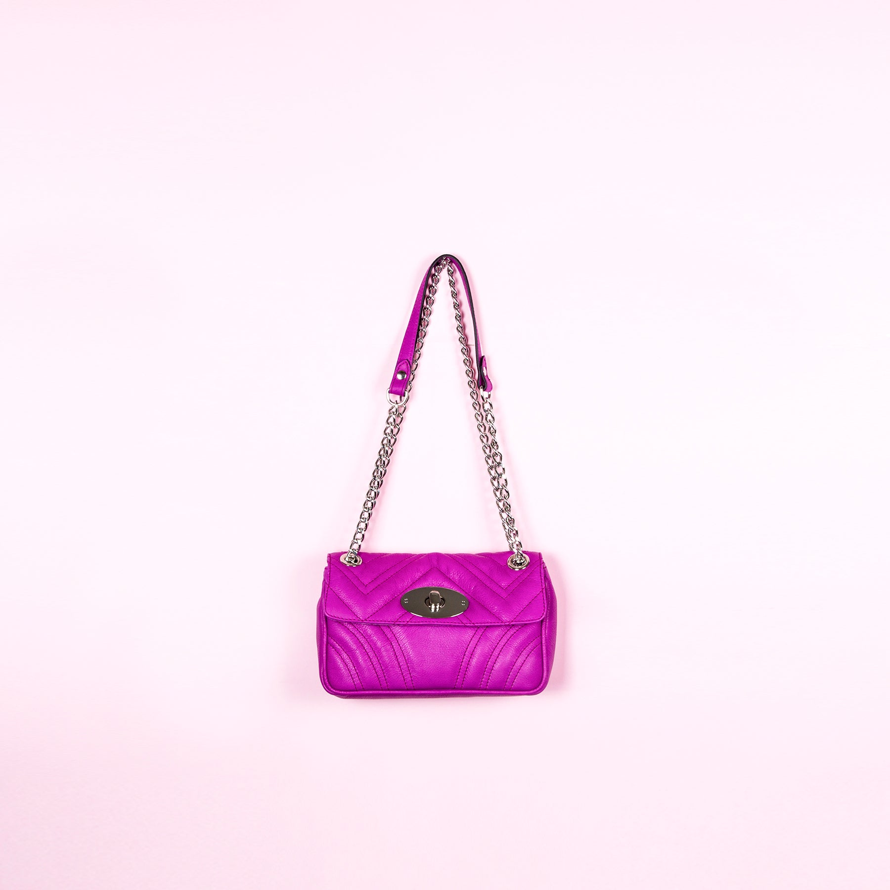 Juliet Purple Leather