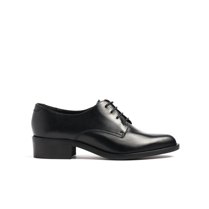 Rabat Black Leather Shoes