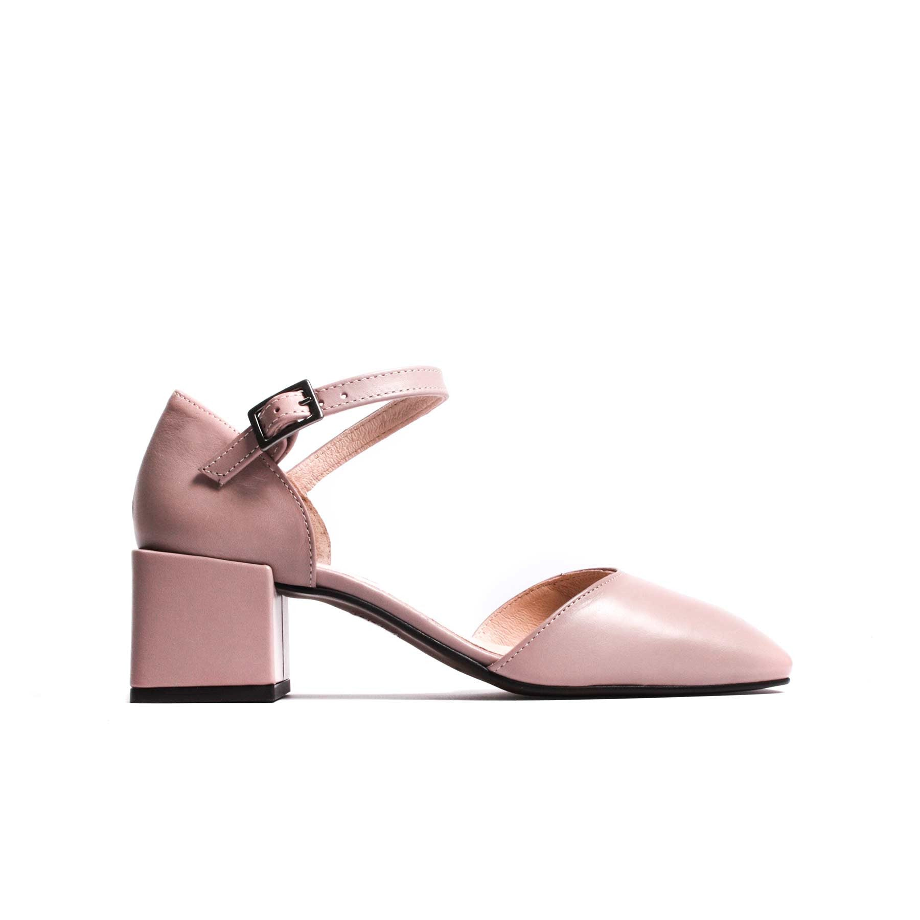 Riva Blush Pink Leather