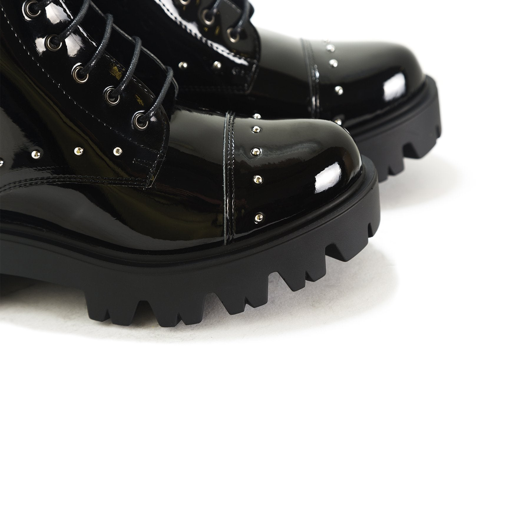 Punk Black Patent