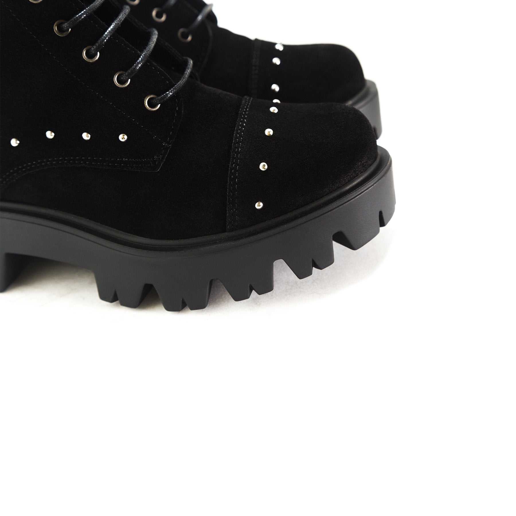 Punk Black Suede