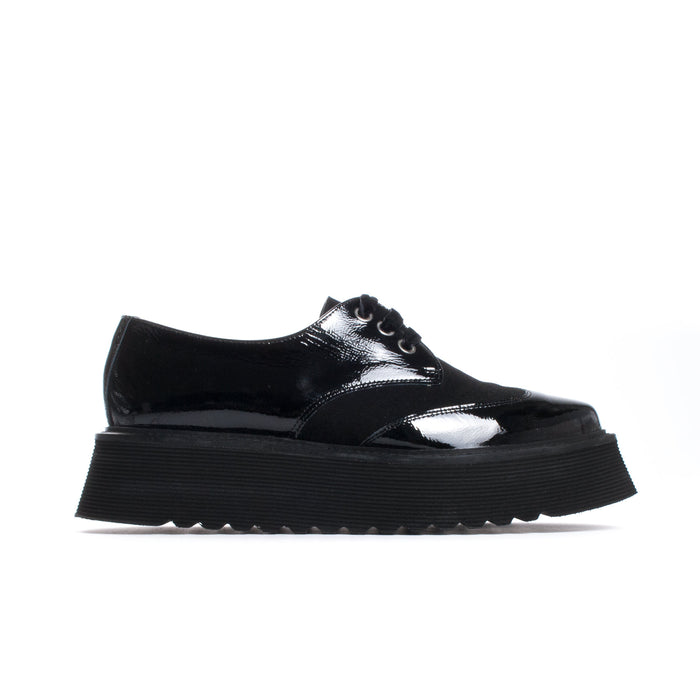 Sabrina Black Patent Leather
