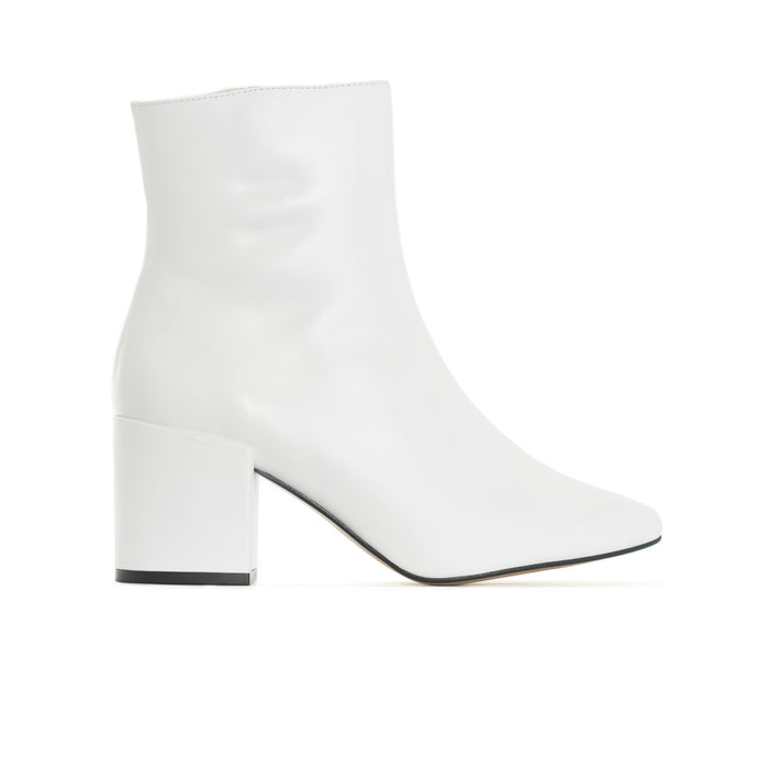 Sardi White Leather
