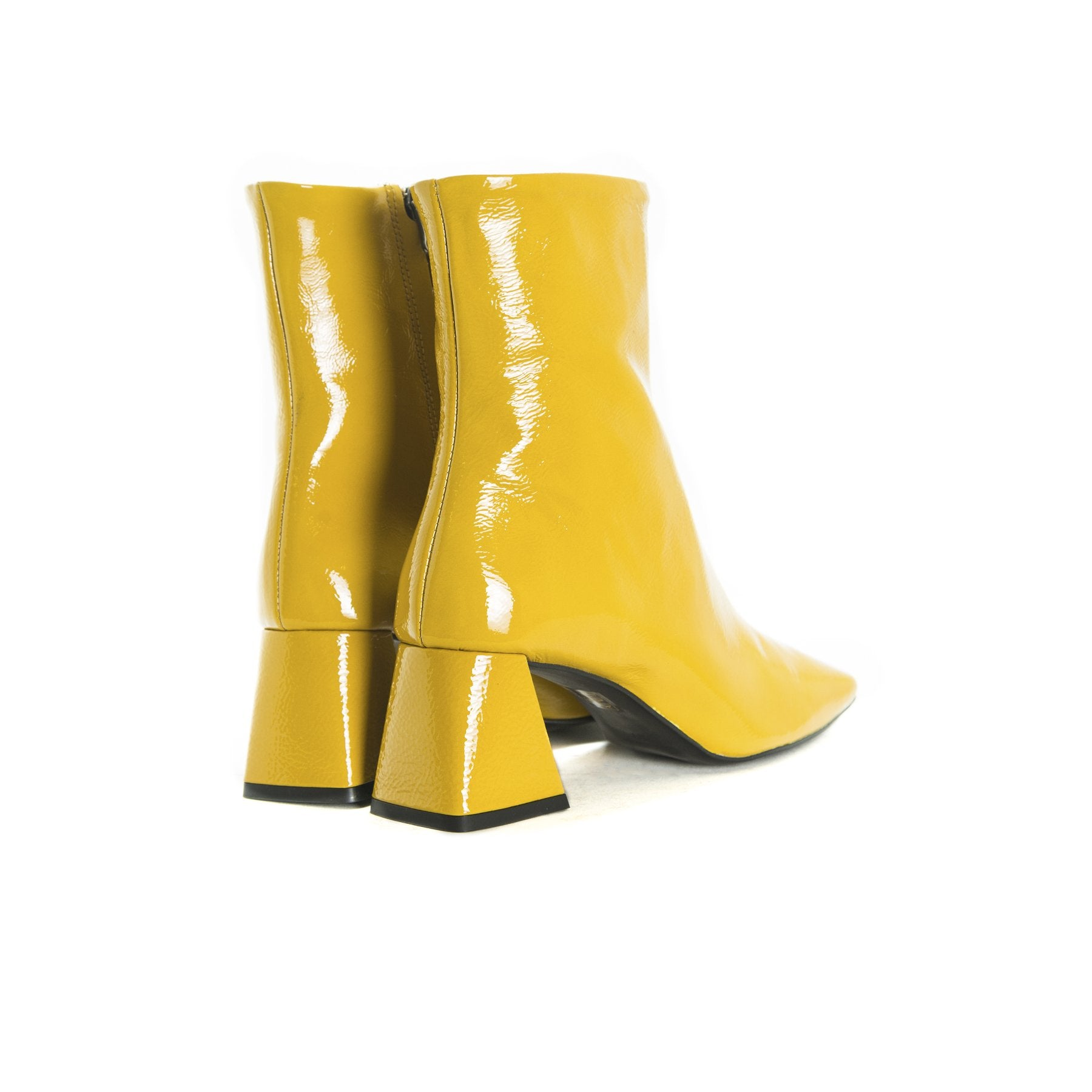 Seoul Mustard Naplack Boots