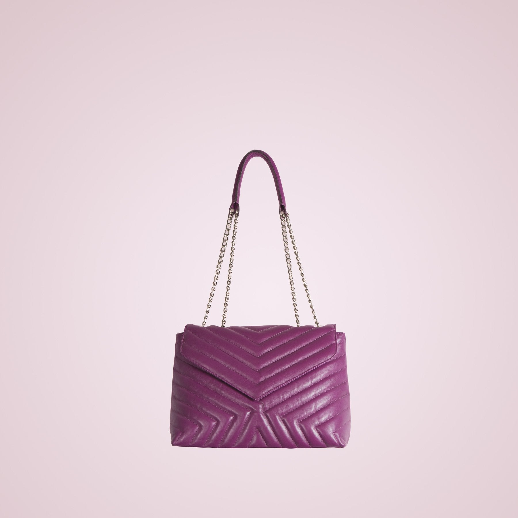 Melpo Light Purple Leather