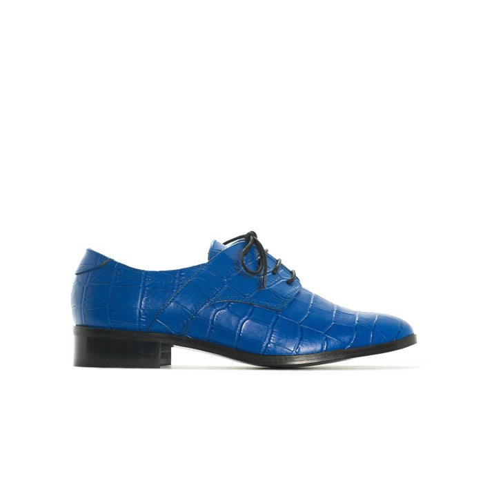 Slico Blue Croco Leather