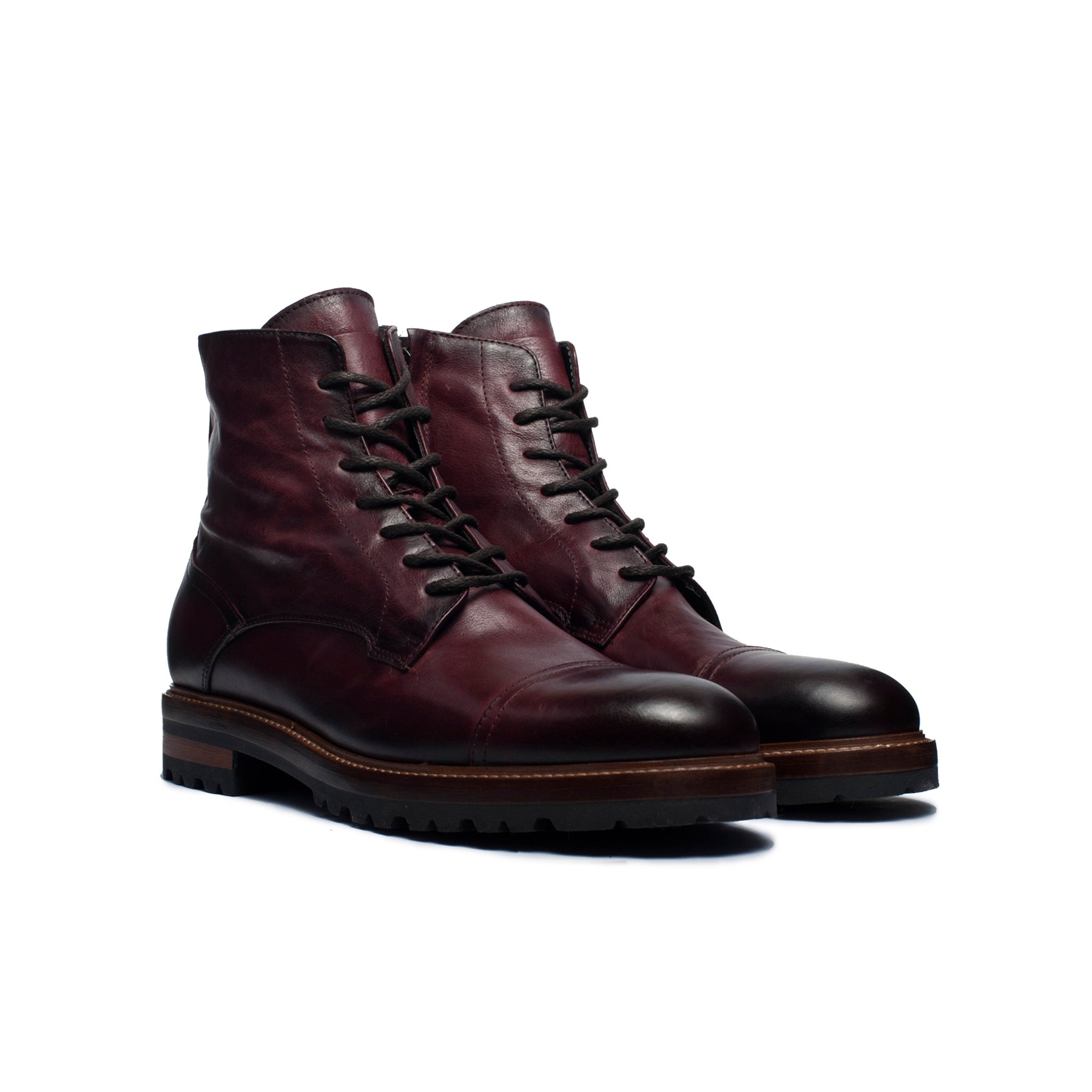 Stephano Bordo Leather Boots