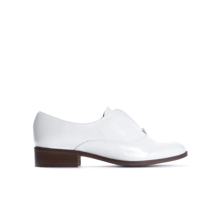 Surrey White Patent Leather