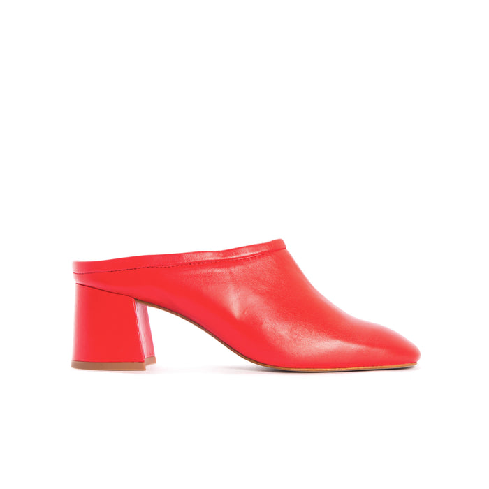 Talisa Red Leather