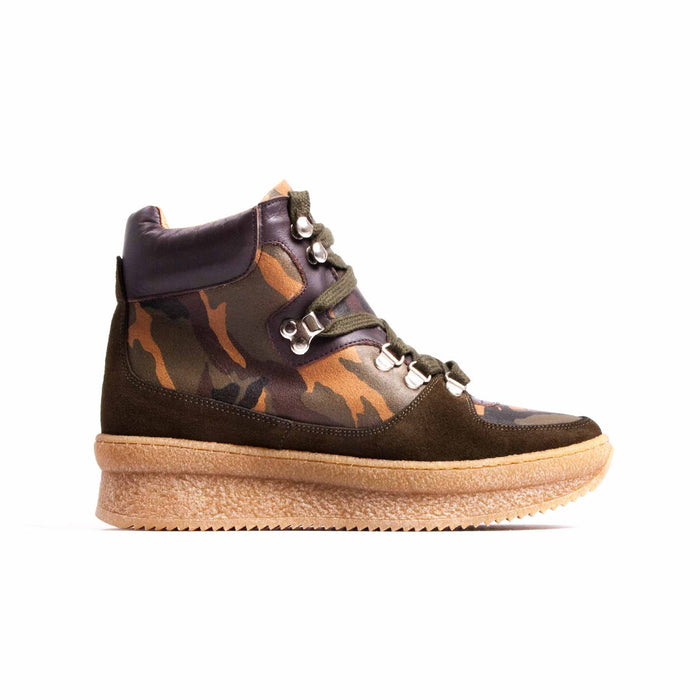 Paden Military Leather & Suede
