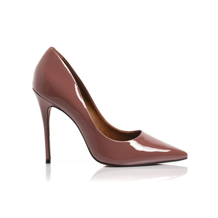 Teeva Berry Patent Pumps