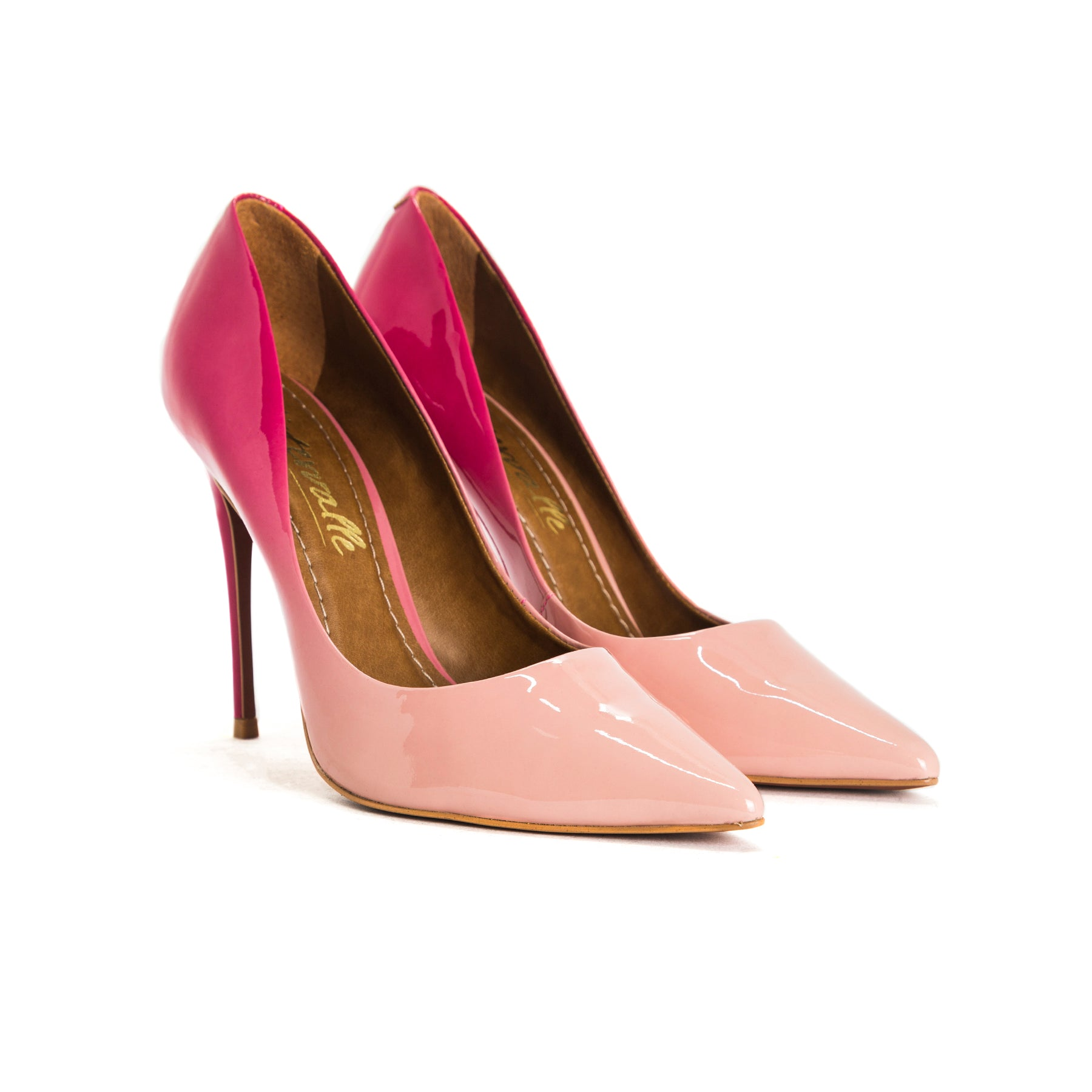 Teeva Pink/Nude Degrade Pumps