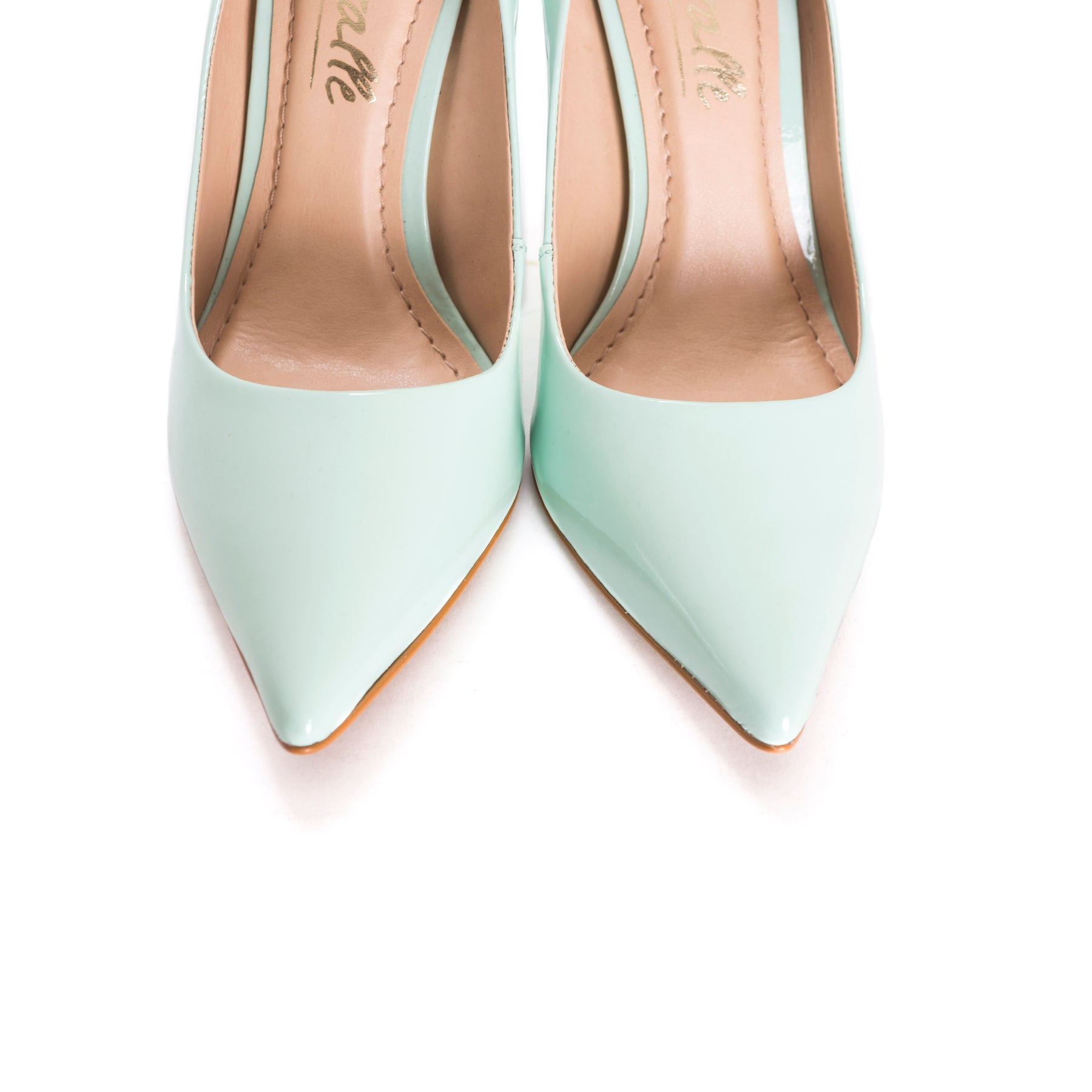 Teeva Mint Patent Pumps