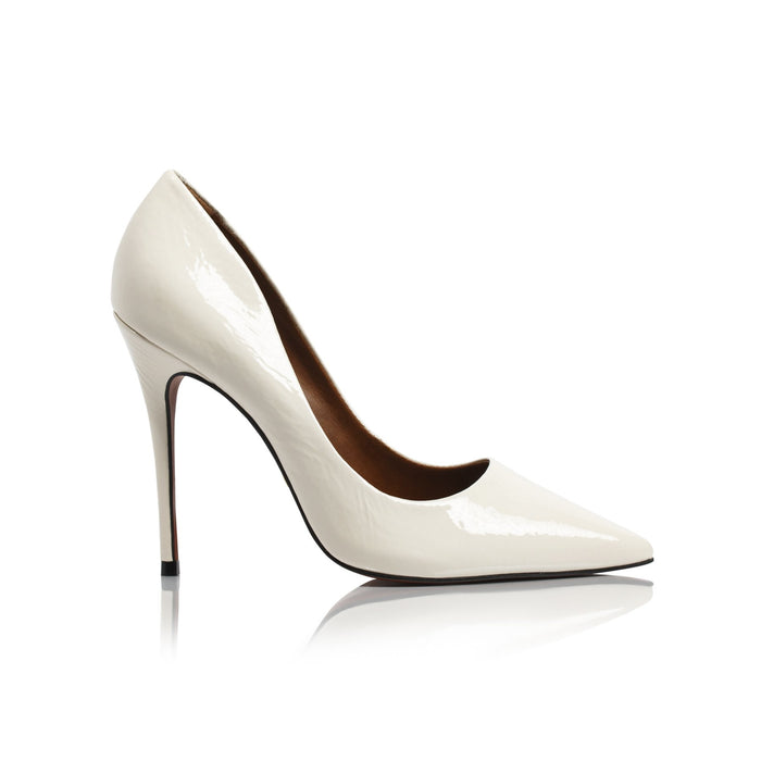 Teeva Vanilla Naplack Pumps