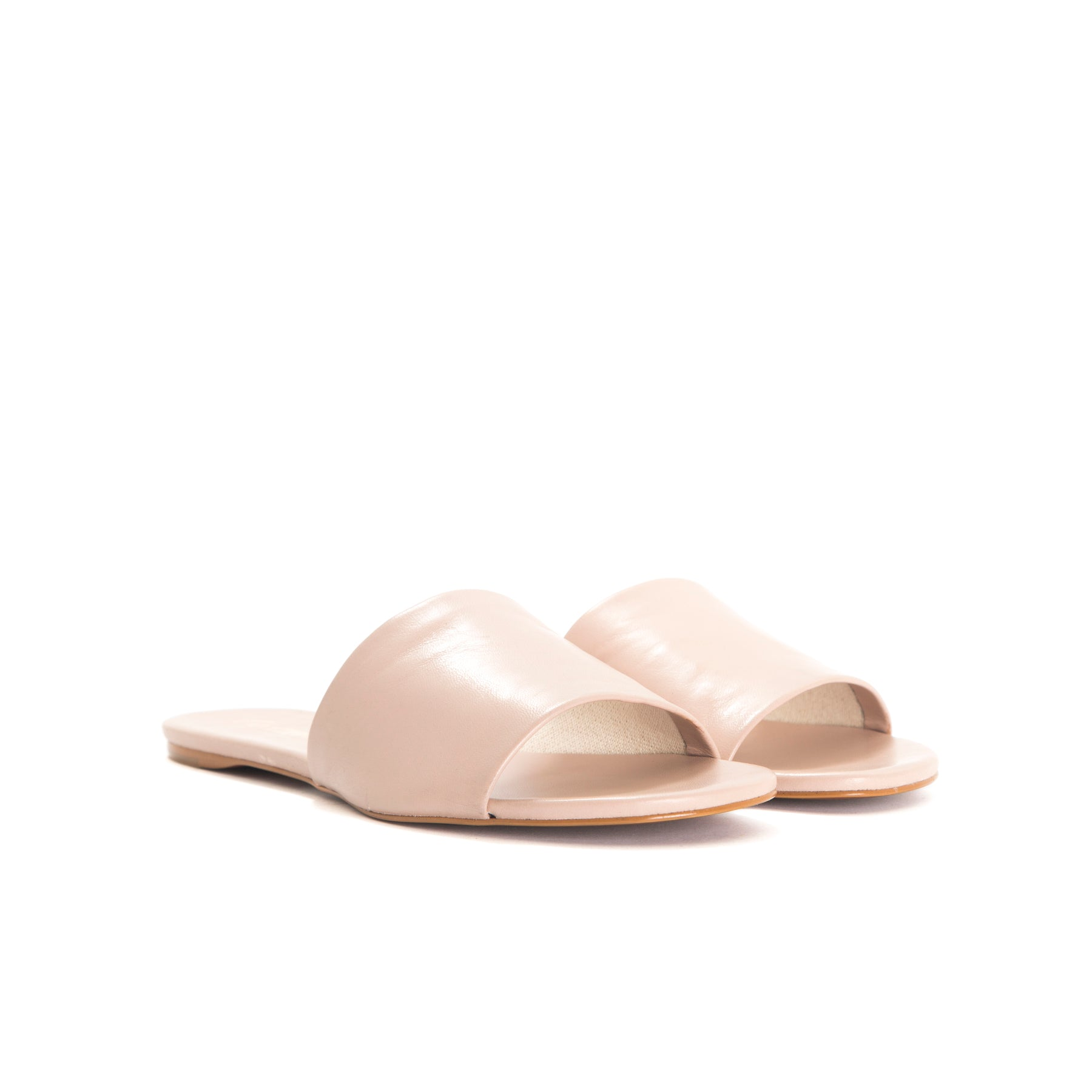 Varadero Nude Leather Sandals