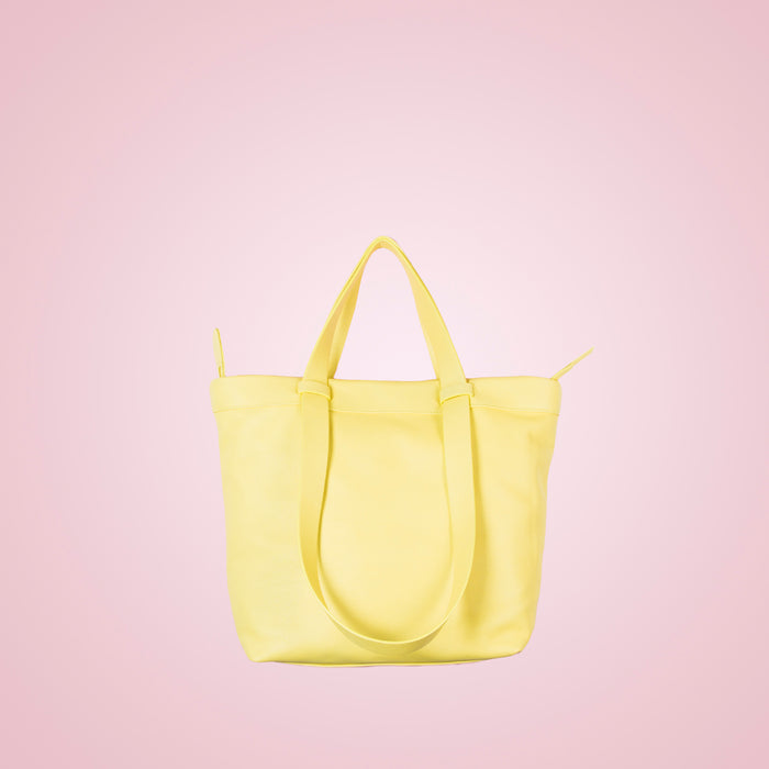 Claudine Yellow Leather