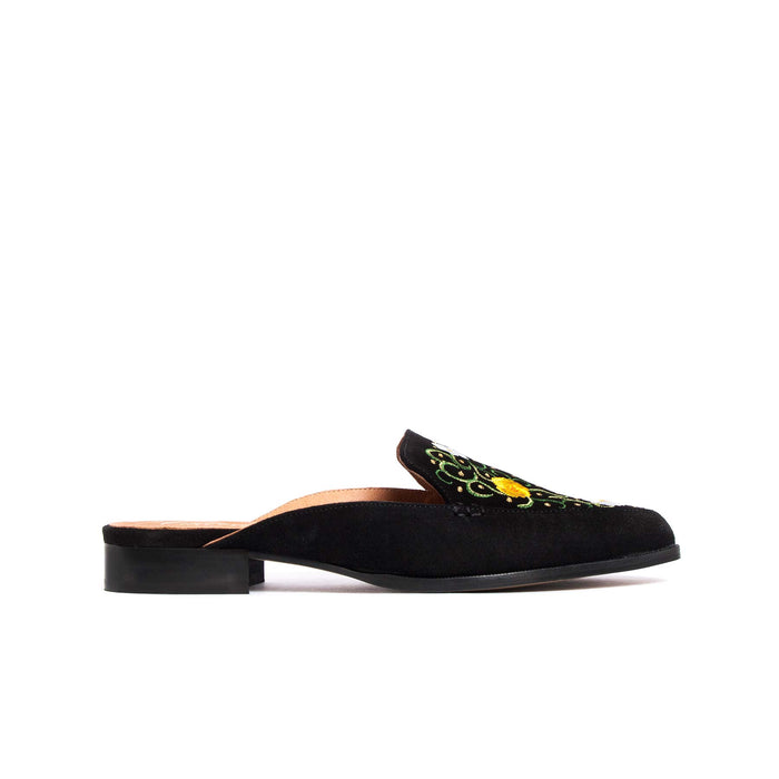 Yicania Z Black Suede