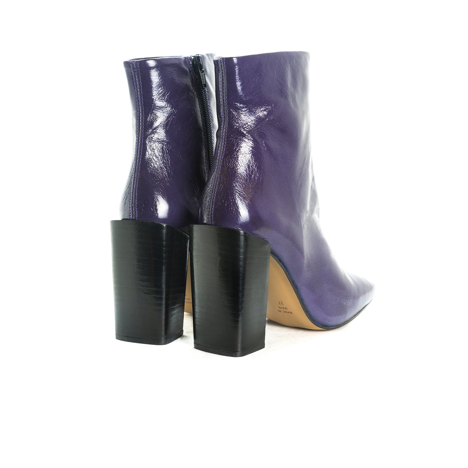 Zicos Purple Naplack Boots