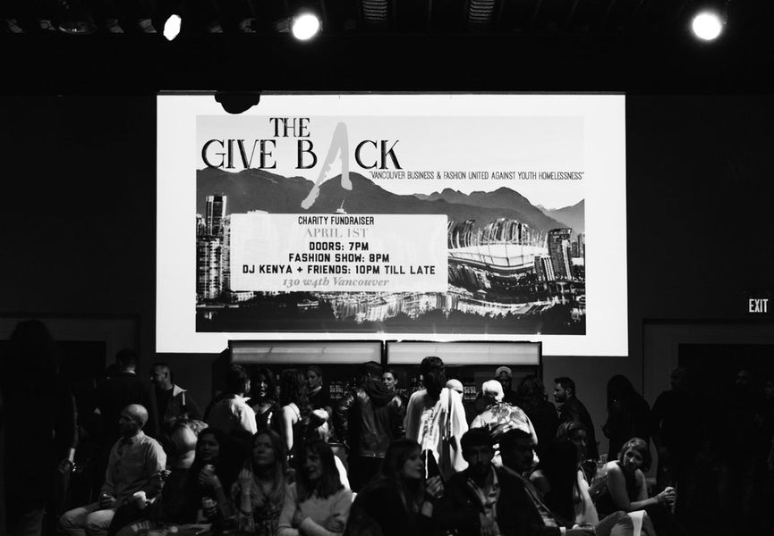 The Give Back: Fashion 4 Future Charity Event
