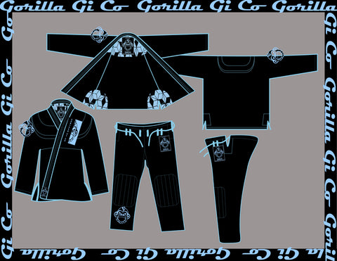 Gorilla Gi Co. - 2018 Highland Pro Trainer Kids - Black