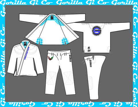 Gorilla Gi Co. - Kids GroundStone BJJ Gi V3 - Gorilla Gi Co. LLC