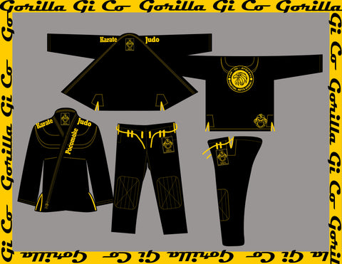 Gorilla Gi Co. - Kids Pocomoke KDJR Gi - Gorilla Gi Co. LLC