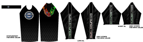 Gorilla Gi Co. - GroundStone BJJ Kids Short-Sleeve Rashguard - Gorilla Gi Co. LLC
