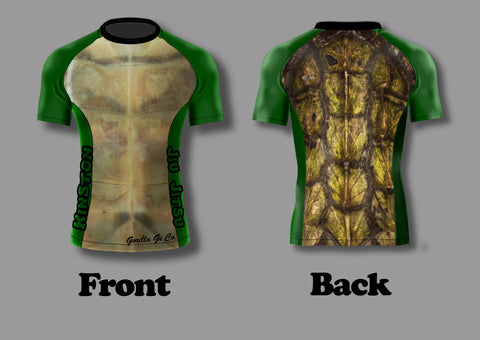 Gorilla Gi Co. - Kinston BJJ Short-Sleeve Rashguard - Gorilla Gi Co. LLC