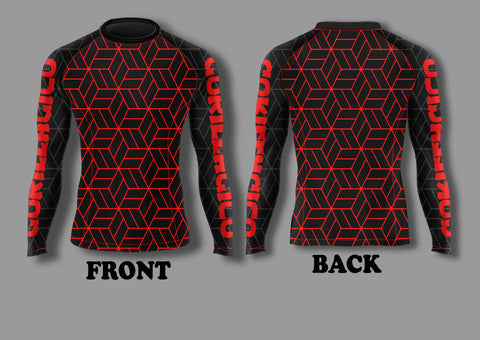 Gorilla Gi Co. - 2018 Ranked Long-Sleeve Rashguard - Gorilla Gi Co. LLC
