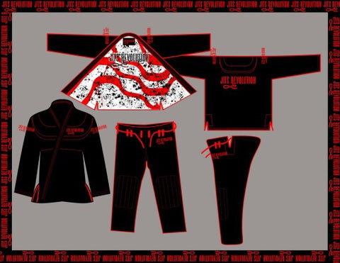 Jits Revolution  - Comp Ultra Lite BJJ Gi - Gorilla Gi Co. LLC