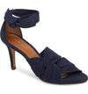 Klub Nico Anni Heel in navy blue is buttery soft and a sandal you can wear all day