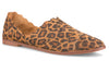 Klub Nico Georgette scalloped flat is one of our best sellers. This shoe is the perfect balance between dressy and casual and a super comfortable shoe.  She wears like a slipper. We love this cheetah animal print!