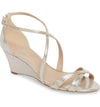 Kaissa is the perfect low wedge sandal for outdoor weddings