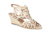 ivory wedding wedge