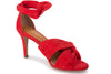 Klub Nico Anni heel is red is buttery soft