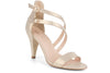 Klub Nico Arden sexy heel in champagne is perfect for weddings and special occasions