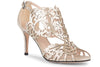 Klub Nico Marcela 3 Silver Laser Cut Wedding Shoe