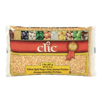 Clic Yellow Split Peas 907g