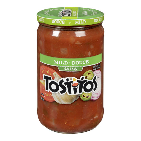 TOSTITOS MILD SALSA	645 ML