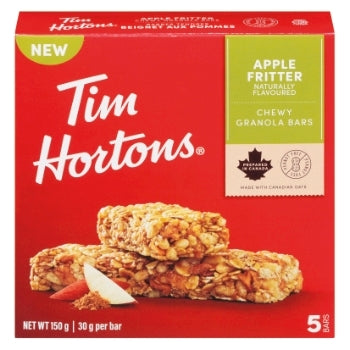 Tim Hortons Apple Fritter Granola Bar 5 Pk 150 G