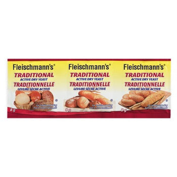 FLEISCHMANNS TRADITIONAL YEAST 3PACK